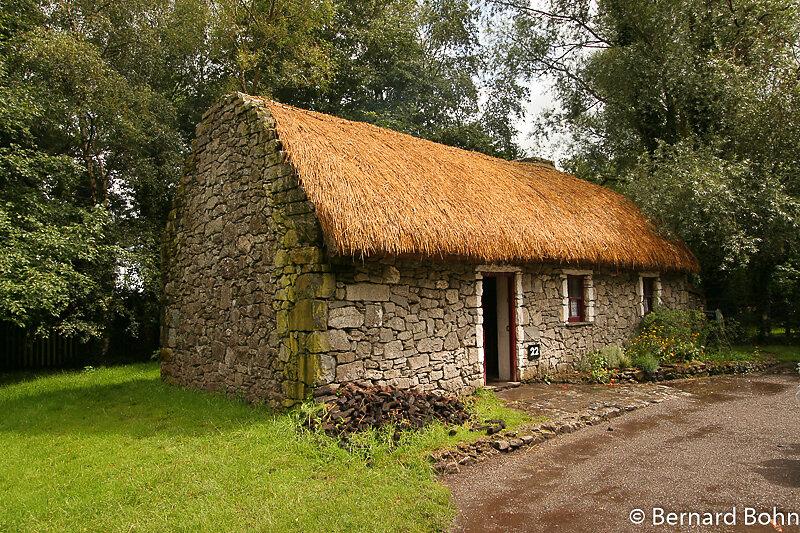 Irlande château et parc de bunratty